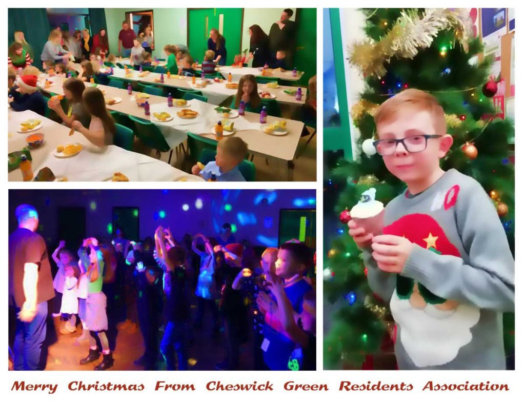 Merry Christmas From Cheswick Green Residents Association